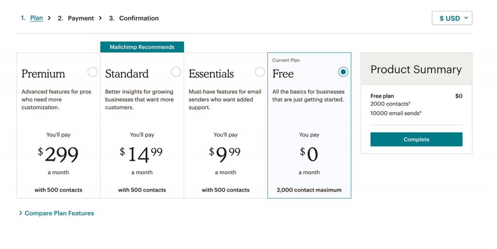 Veja os preços do MailChimp e comece hoje mesmo a usar essa ferramenta para criar uma lista de emails grátis!