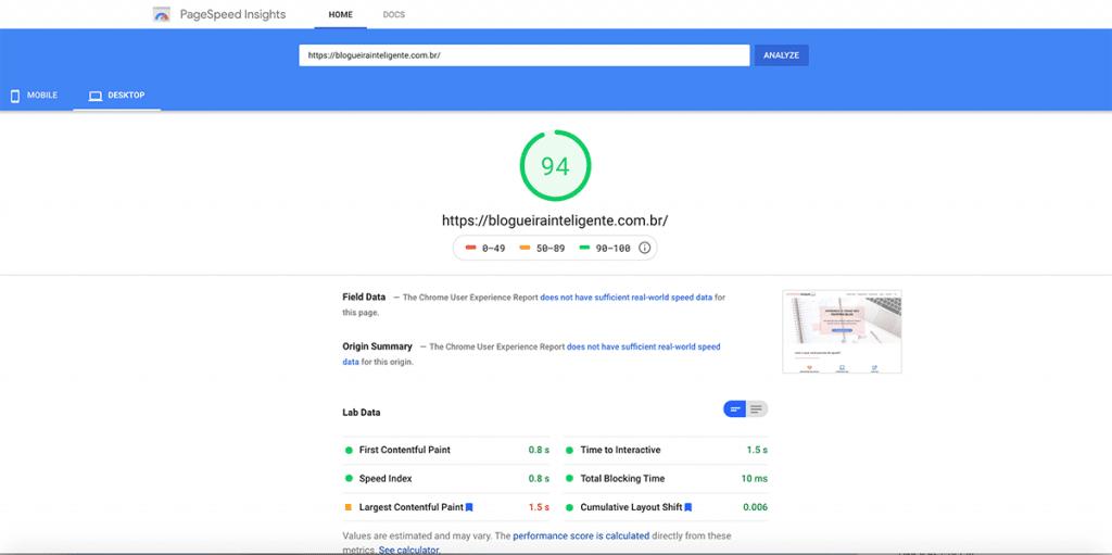 Um blog que carrega rápido tem mais chances de ser bem classificado no Google! Descubra essa e outras técnicas de SEO para blogs nesse post!